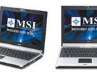Centrino 2 Core 2 Duo Laptopy MSI PX200 radeon HD 3450 Sub-notebooki