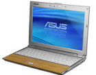 ASUS bambusowy laptop Core 2 Duo Sub-notebooki U6V-B1