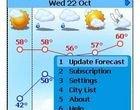 Handy Weather dla telefonów z Javą