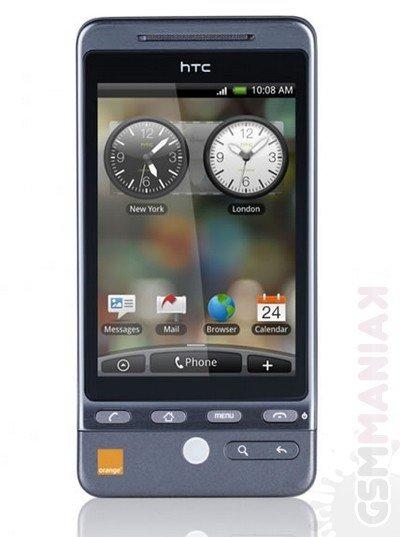 HTC Hero Orange