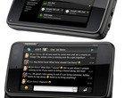 Adobe Flash ekran dotykowy klawiatura ekranowa klawiatura qwerty Maemo smartfon TI OMAP 3430