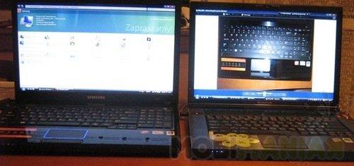 Samsung R620 i Lenovo Y530