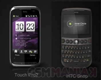 HTC Snap Touch pro 2 Wm6.5