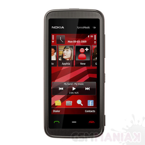 nokia-5530-black-red