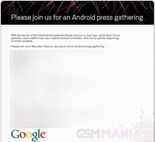 google-android-event-january-5