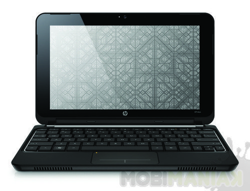 hp-mini-210-black-crystal-front-facing-open-on-white