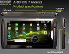 Android OS ARM dotykowy ekran TabletPC