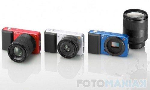 Prototypy aparatów typu EVIL, Sony