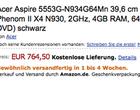 AMD Phenom II X3 N830 AMD Phenom II X4 N930 ATI Mobility Radeon HD 5470 ATI Mobility Radeon HD 5650
