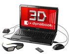 3D Blu-Ray ekran 3D Intel Core i7-740QM Nvidia 3D Vision Nvidia GeForce GTS 350M Toshiba Qosmio