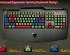 diody LED klawiatura dla gracza