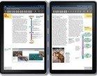 dwa ekrany e-book edukacja NVIDIA Tegra 2