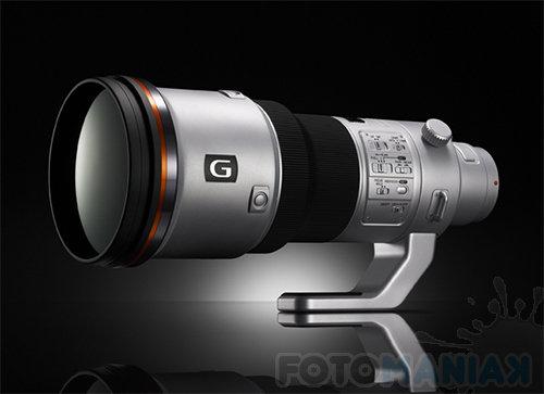 Model koncepcyjny nowego teleobiektywu (500 mm f/4 G) (za sony.jp)