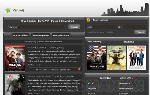Zalukaj.tv / zrzut ekranu z Zalukaj.tv