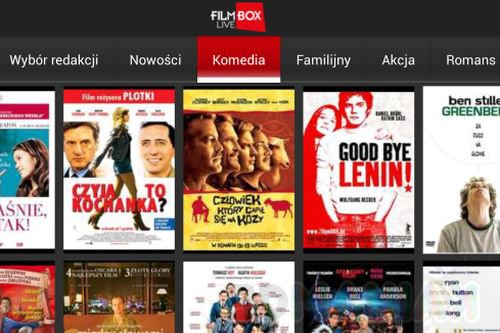 Filmbox Live / zrzut ekranu z Google Play