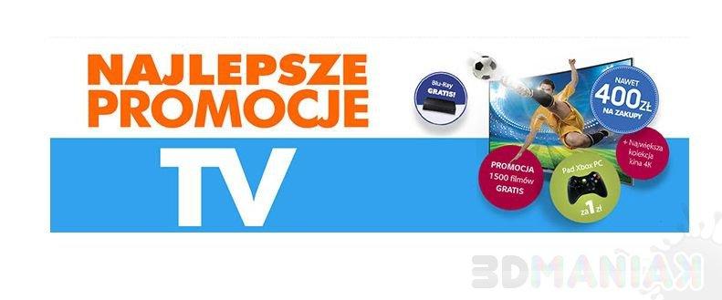 Najlepsze promocje na telewizory / zrzut ekranu z electro.pl