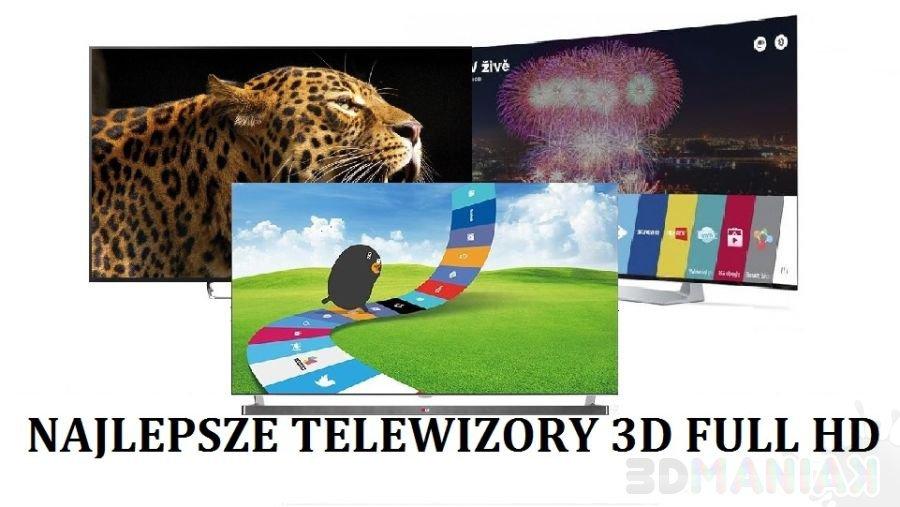 Najlepsze telewizory 3D Full HD