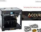 Komputronik prezentuje drukarkę 3D: Accura Genius3D
