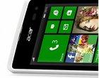 4-calowy wyświetlacz 5-megapikselowy aparat dwurdzeniowy procesor next@Acer Qualcomm Snapdragon 200 smartfon z Windows 10 Windows Phone 8.1