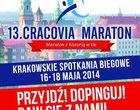 Już za za tydzień 13. edycja Cracovia Maraton