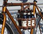 Leather Beer Caddy - skórzana skrzyneczka na piwo dla rowerzystów