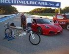 333 km/h Francois Gissy rekord prędkości rower rower z napędem rakietowym
