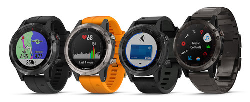 fot. Garmin fenix 5Plus / producent
