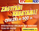 Promocja RTVEuroAGD Zasypani rabatami