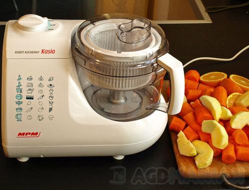 Test robota kuchennego MPM Kasia 116 | agdManiaK