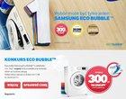 konkurs Poznaj 4 korzyści Samsung Eco Bubble
