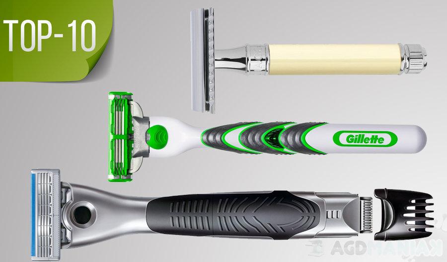 Top-10 maszynki do golenia