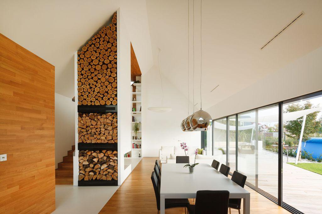 Drewniane wykończenie wnętrza to coraz popularniejszy trend