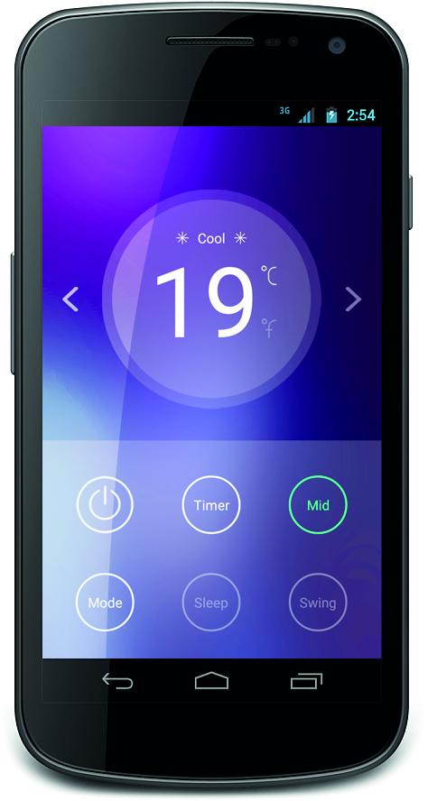 Klimatyzator sterowany smartfonem / fot. informacje prasowe