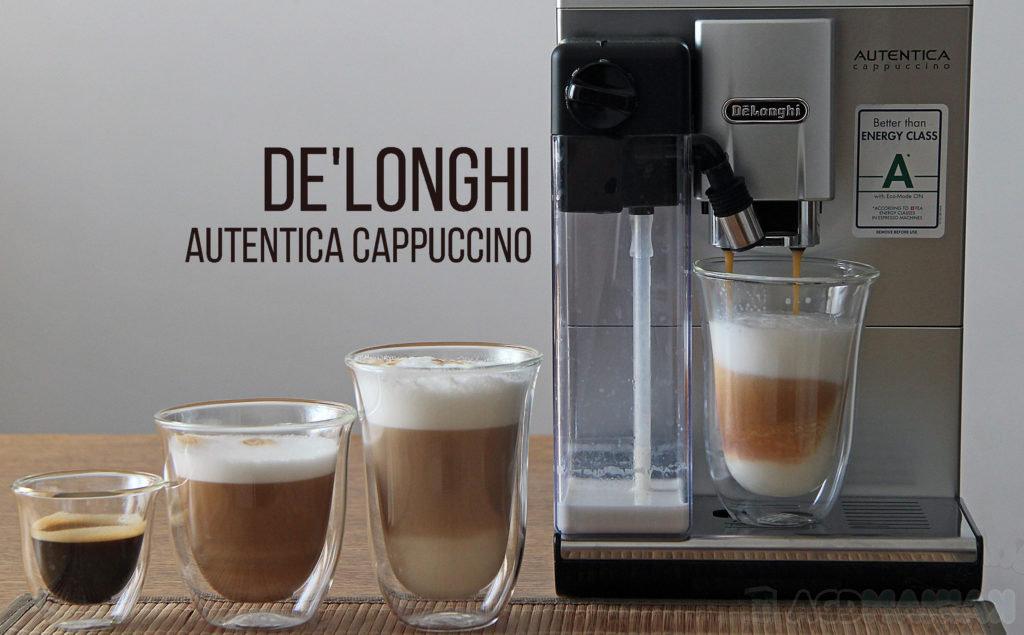 DeLonghi Autentica Cappuccino ETAM 29.660.SB 24