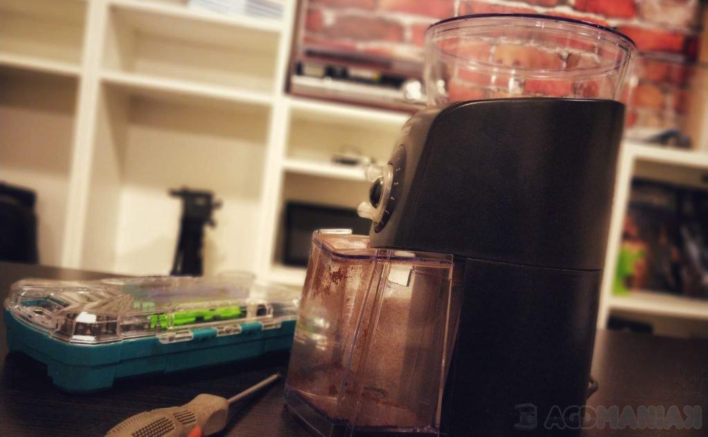 Kalibracja młynka do kawy
