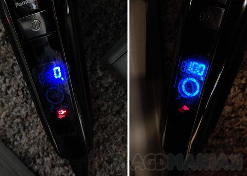 fot. pierwsze ładowanie Panasonic ES-LV6Q / AGDmaniaK.pl