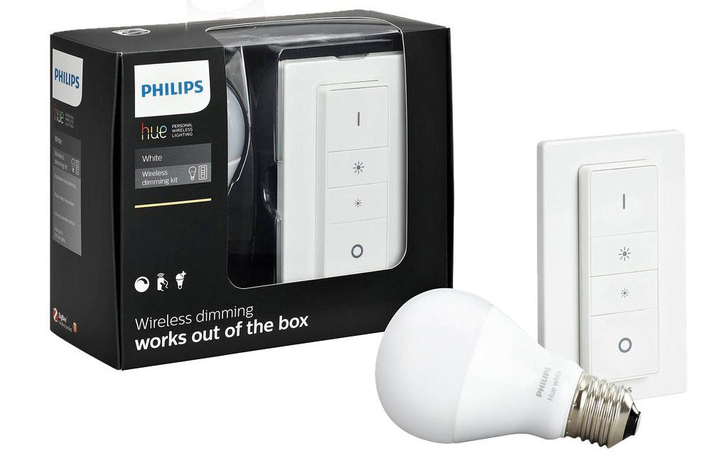 Zestaw startowy Hue Wireless Dimming Kit Hue Wireless Dimming Kit / fot. Philips