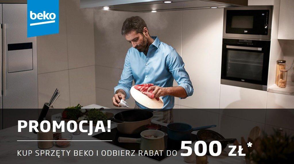 Beko: odbierz do 500 zł za zakup kilku produktów / fot. Beko
