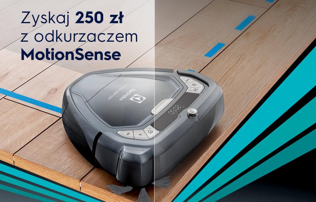 Electrolux MotionSense ERV5210TG / fot. Electrolux