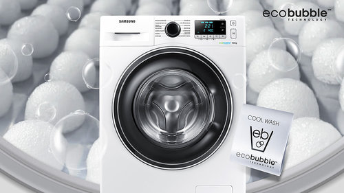 Samsung Eco Bubble WW90J5246FW / fot. Samsung