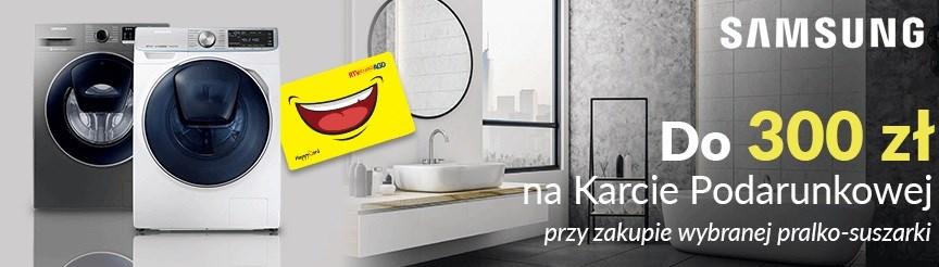 RTV EURO AGD - do 300 zł za zakup pralko-suszarki Samsung / fot. EURO