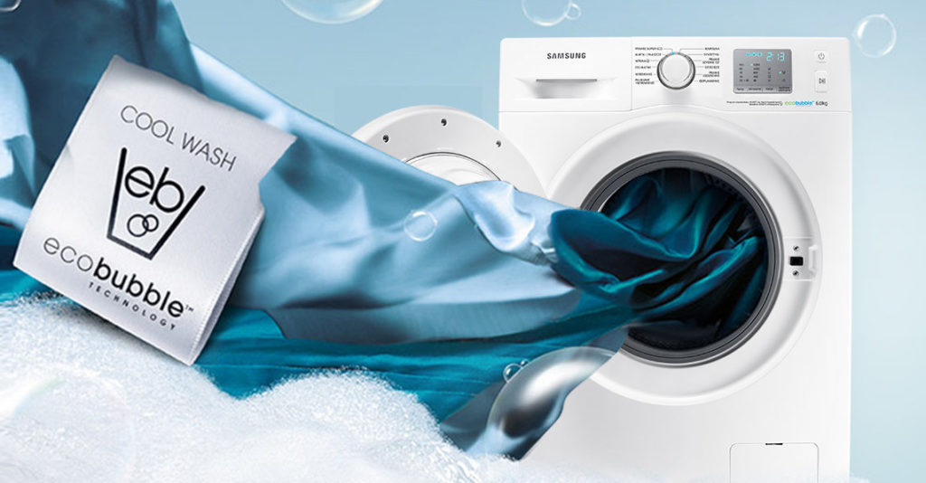 Samsung Eco Bubble WF60F4EFW0W / fot. Samsung