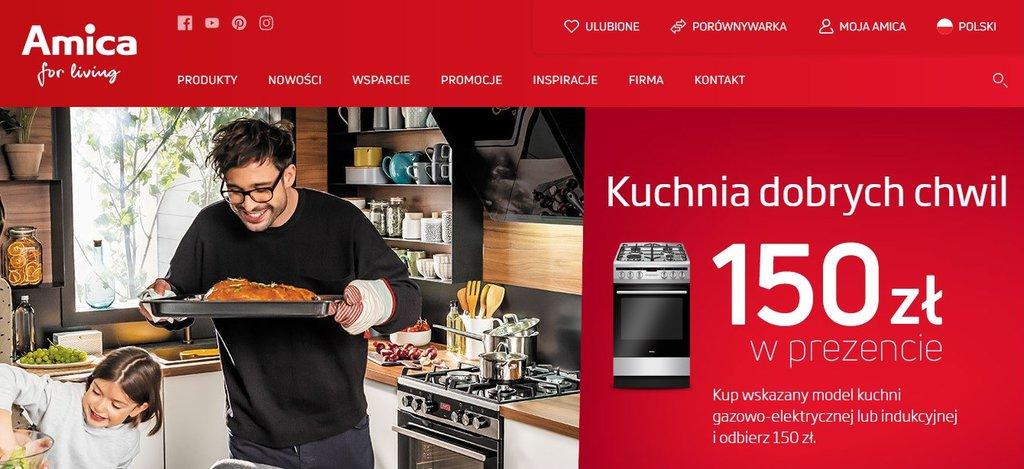 Amica kuchnia dobrych chwil / fot. Amica