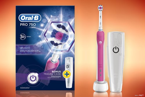 Oral-B Pro 750 różowa / fot. Oral-B