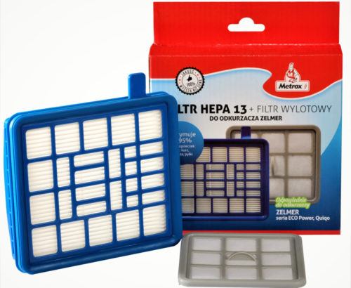 Wymienny filtr Hepa 13 Zelmer / fot. Zelmer