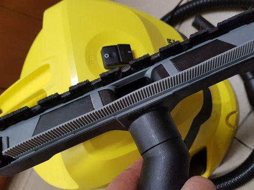 Karcher WD 3: Duża końcówka z gumą zbierającą wodę / fot. Techmaniak