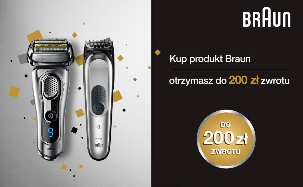 Braun - Odbierz do 200 zł zwrotu / fot. Braun