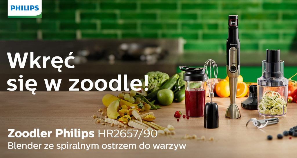 Philips Zoodler HR2657/90 / fot. Philips