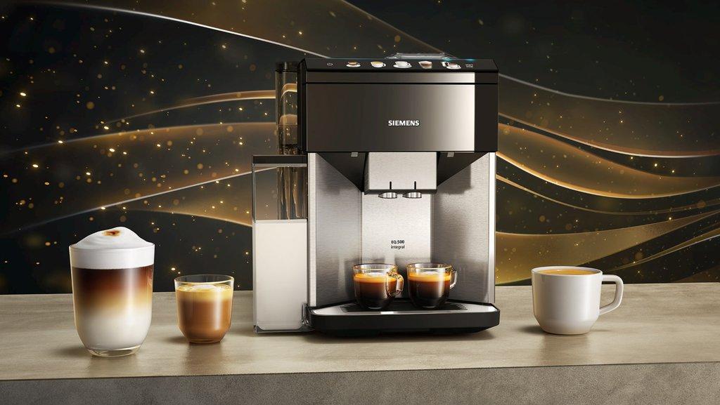 Siemens :nowe automatyczne ekspresy do kawy linii EQ.500 / fot. Siemens