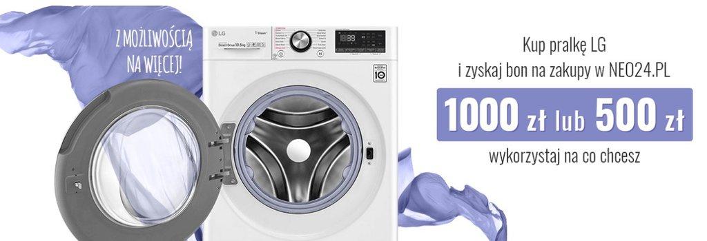 Promocja na pralki LG w NEO24 / fot. NEO24